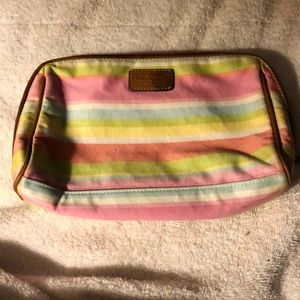 COACH MEDIUM MULTICOLORED COSMETIC BAG